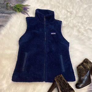 PATAGONIA Navy Blue Fleece Vest